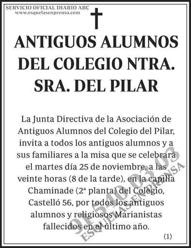 Antiguos Alumnos Colegio Ntra. Sra. del Pilar